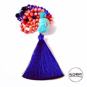 Handmade gemstone diffuser Mala 📿